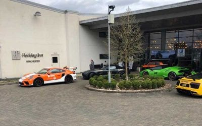 Supercar TV Show at Holiday Inn Winchester